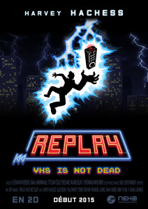 Replay VHS is not Dead - cover