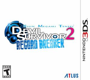 Shin Megami Tensei - Devil Survivor 2 Record Breaker - cover