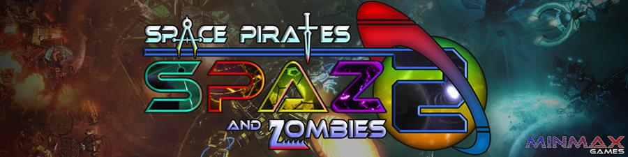 Space Pirates and Zombies 2 - bannière