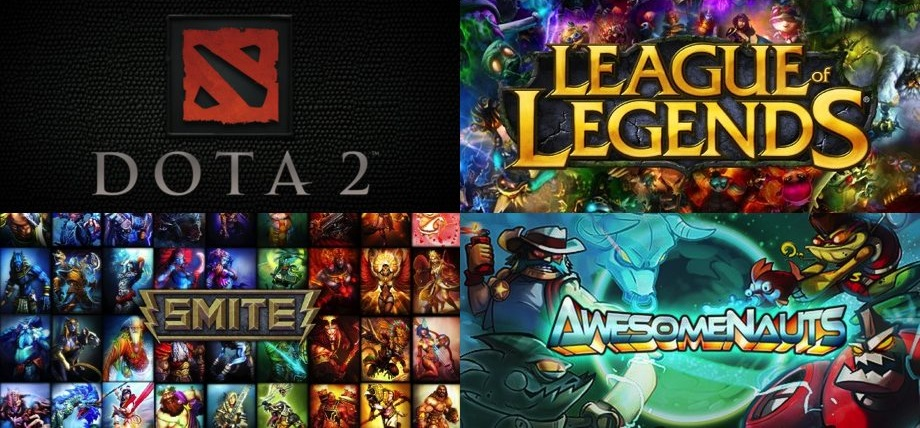 Liste des MOBA : Multiplayer online battle arena