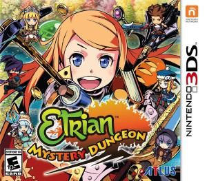 Etrian Mystery Dungeon - cover