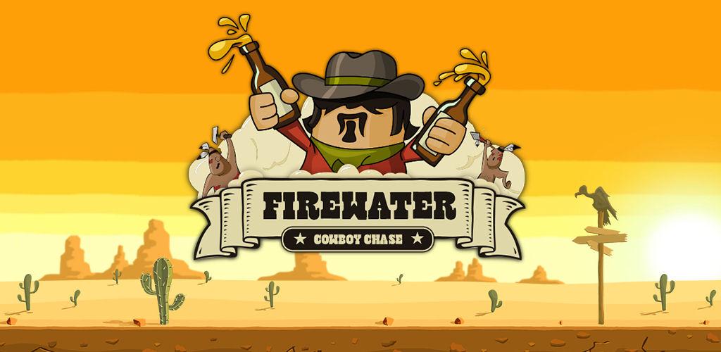 Firewater Cowboy Chase - logo