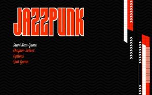 Jazzpunk - menu