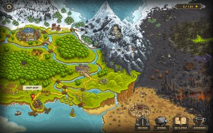 Kingdom Rush - carte