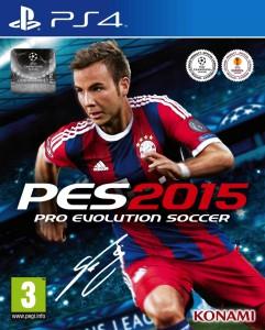 Pro Evolution Soccer 2015 - cover
