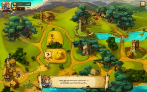 Braveland - carte