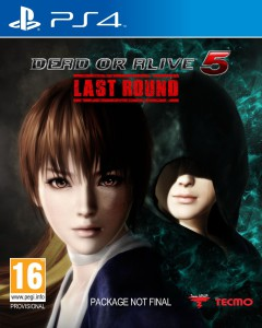 Dead or Alive 5 Last Round - cover