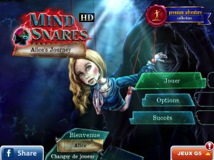 Mind Snares - Alice's Journey - la version pour iPad