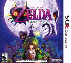 The Legend of Zelda - Majora's Mask 3D - cover