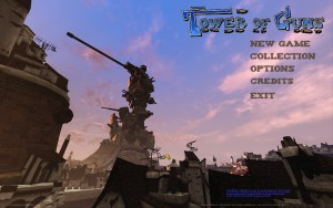 Tower of Guns - menu