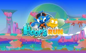 Hoop's run - logo