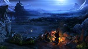 The Book of Unwritten Tales 2 - feu de camp
