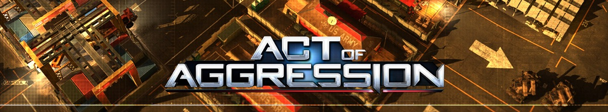 Act of Aggression - bannière