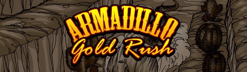 Armadillo Gold Rush - bannière