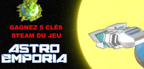 CONCOURS : Gagnez une clé du jeu Astro Emporia