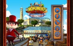 Monument Builders - Alcatraz - menu