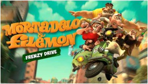 Mortadelo et Filemon - Frenzy Drive - logo