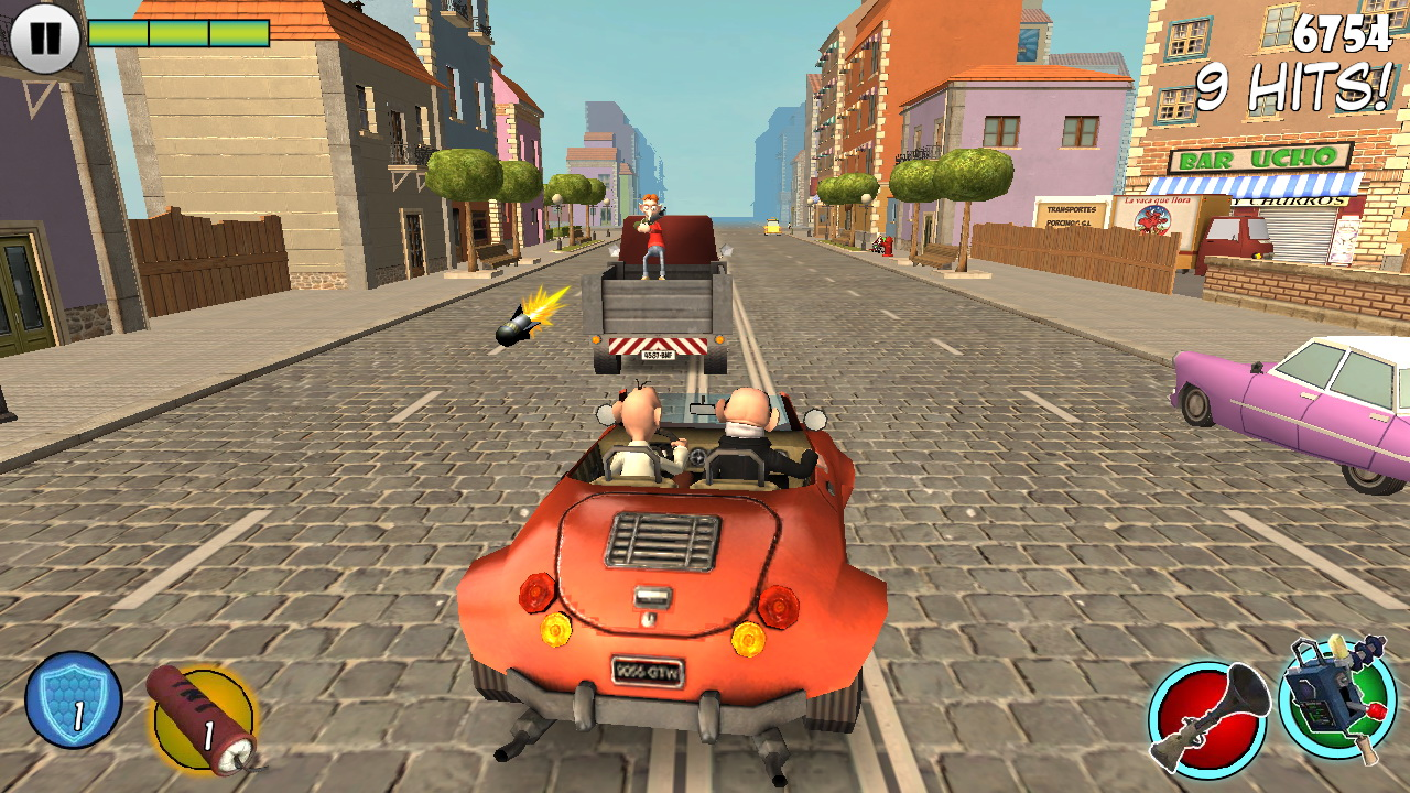 Mortadelo et Filemon: Frenzy Drive