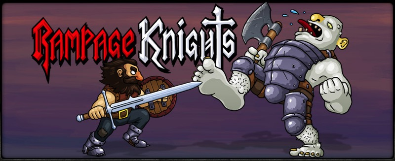 Rampage Knights - bannière