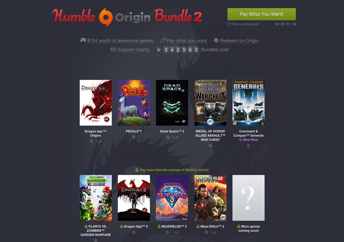 The Humble Origin Bundle 2