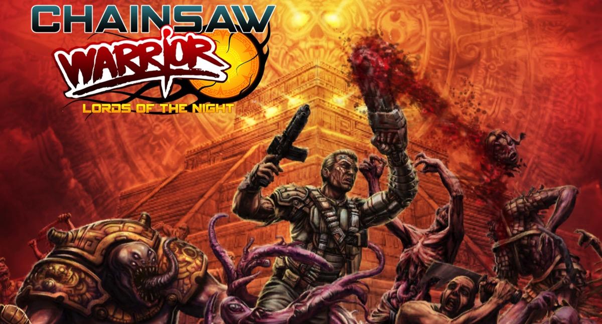 Concours : Gagnez le jeu original de Chainsaw Warrior