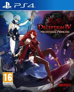 Deception IV - The Nightmare Princess - cover