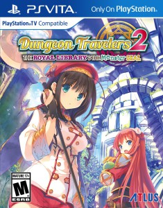 Dungeon Travelers 2 - cover