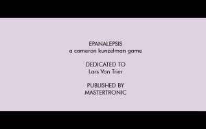 Epanalepsis - Lars von Trier