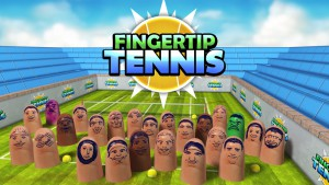Fingertip Tennis - logo