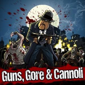 Guns, Gore & Cannoli - logo