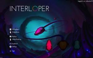 Interloper - menu