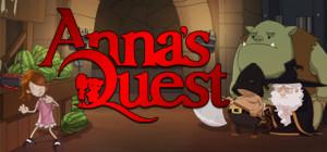 Anna's Quest - logo