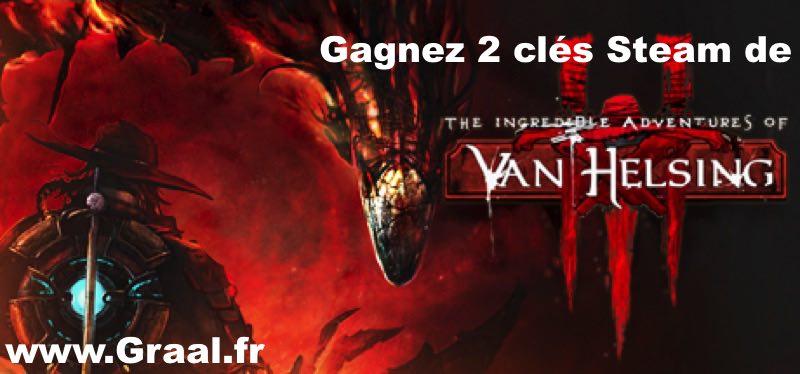 CONCOURS : Gagnez 2 clés Steam du jeu The Incredible Adventures of Van Helsing III