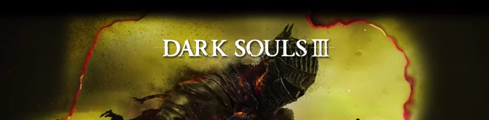 Dark Souls III - bannière