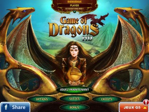 Game of Dragons - menu