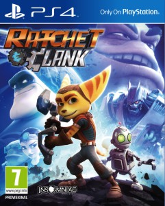 Ratchet & Clank - The Game - cover