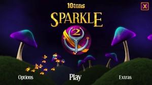 Sparkle 2 - menu