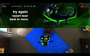 Spy Chameleon - coincé