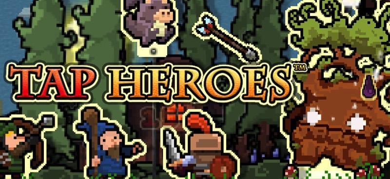 Tap Heroes - bannière