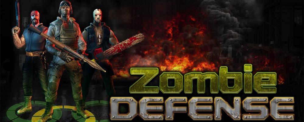 Zombie Defense - bannière