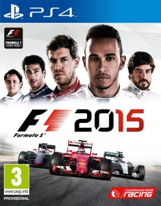 F1 2015 - cover