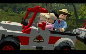LEGO Jurassic World - park