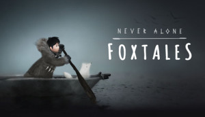 Never Alone - Foxtales - logo