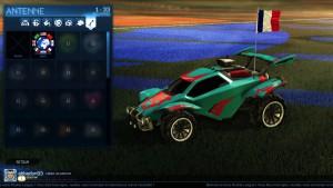 Rocket League - la voiture