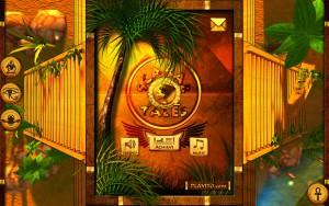 Scarab Tales - menu