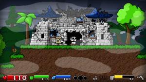 Super Panda Adventures - ruine du château