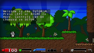 Super Panda Adventures - tutoriel