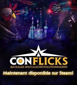 Conflicks - Batailles spatiales révolutionnaires - cover