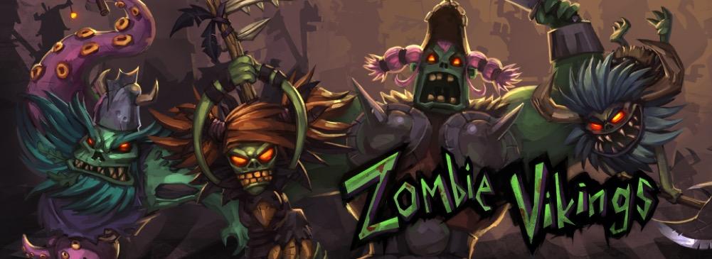 Zombie Vikings - bannière