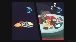 Beyond Gravity - dormir au volant